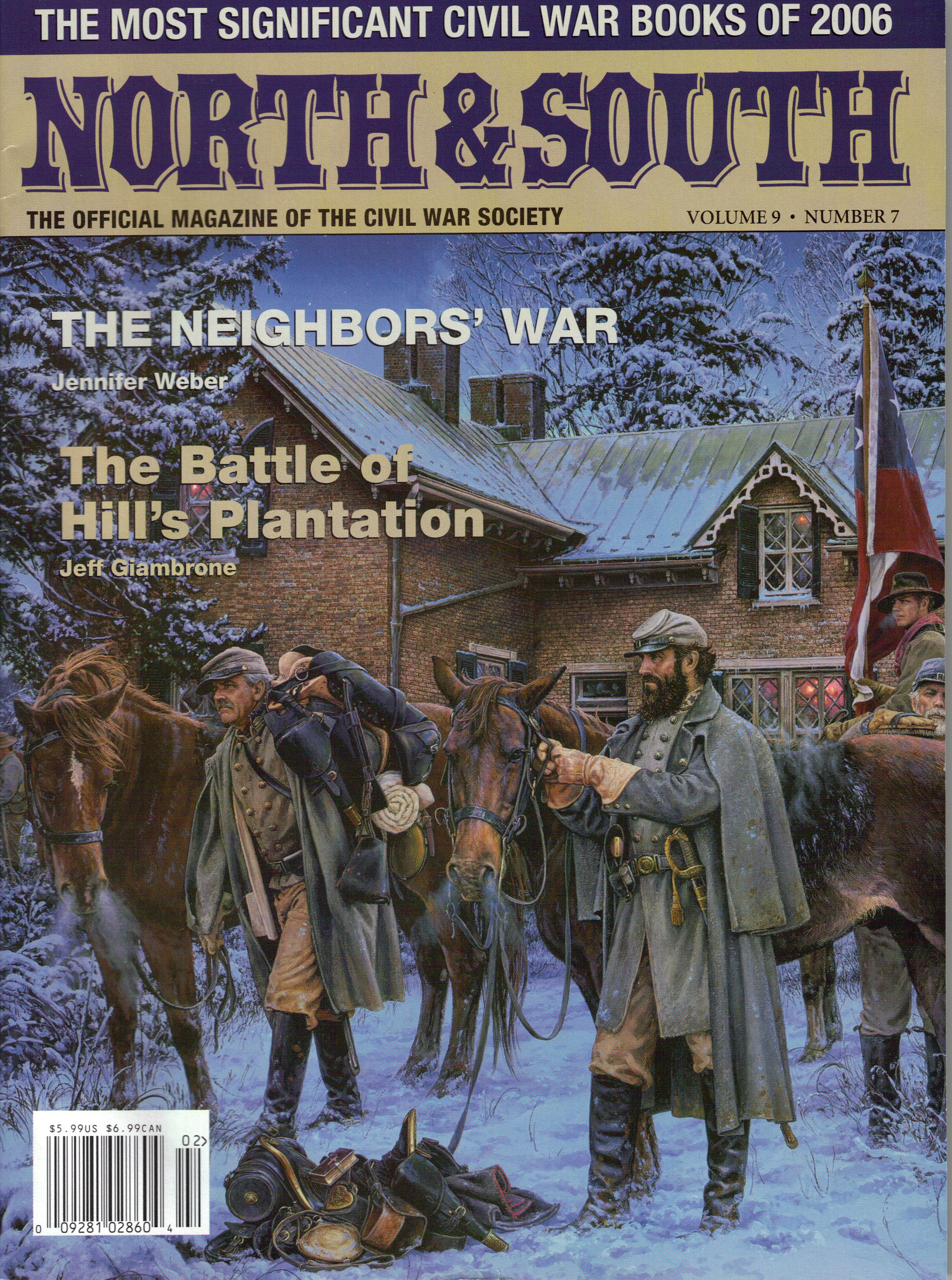 North & South Magazine, Volume 9, Number 7 (February 2007)