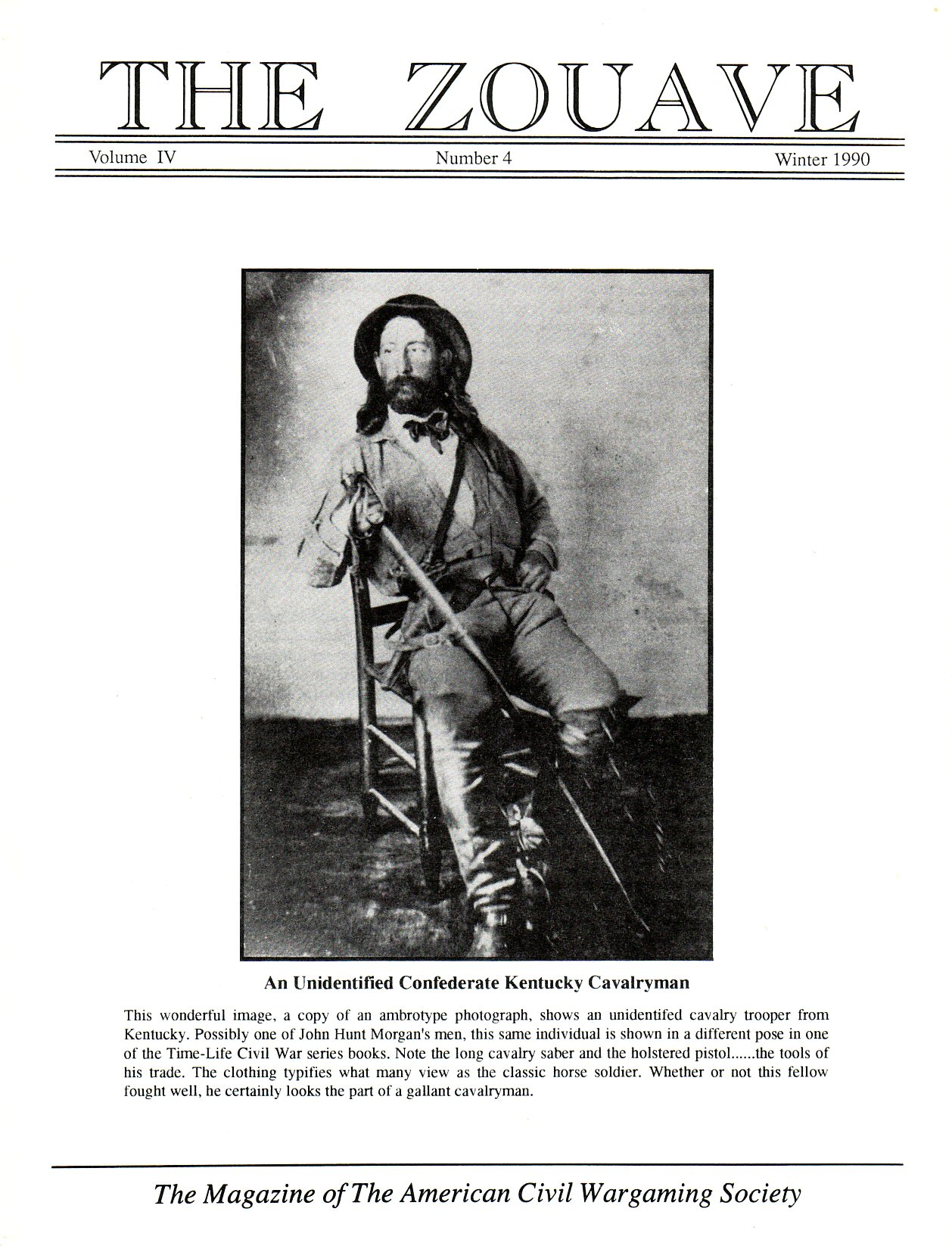 Zouave, Volume 4, Number 4 (Winter 1990)
